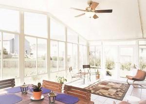 Pico Riveria, CA Gable Sunroom Interior