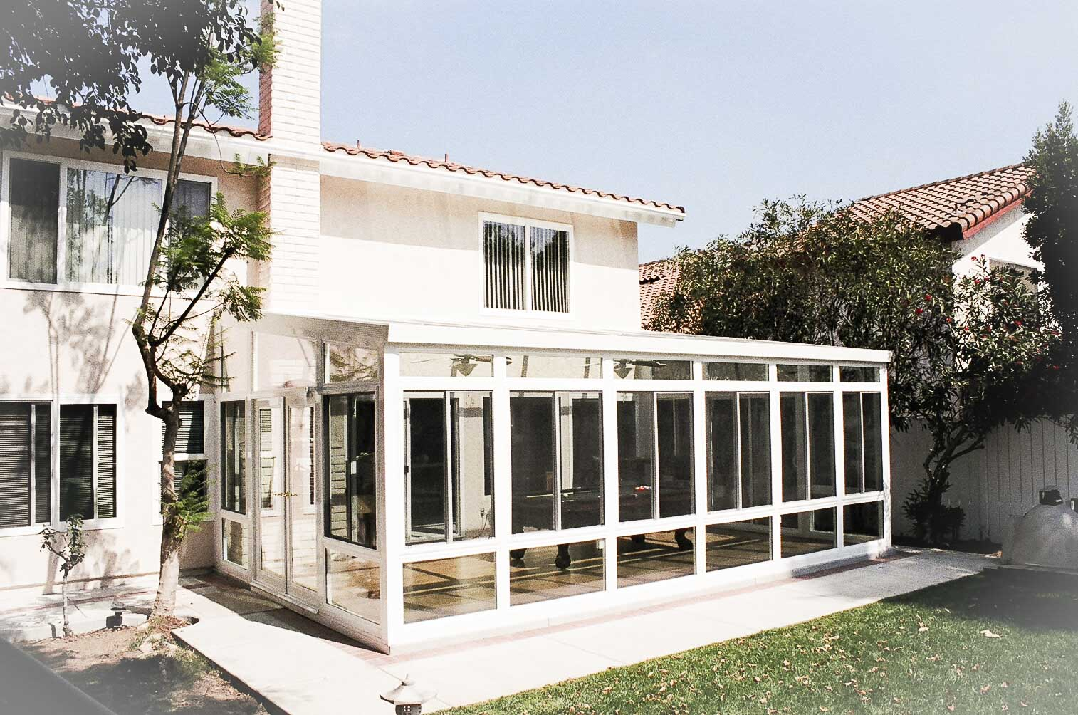 Pomona ca sunrooms and patiorooms los angeles sunrooms for Backyard sunroom